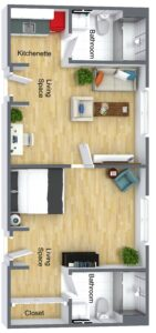 Fleischman - Adjoining Suite