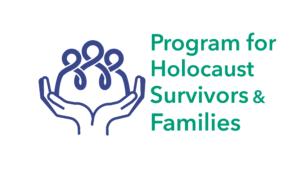 Program for Holocaust Survivors and Families Logo